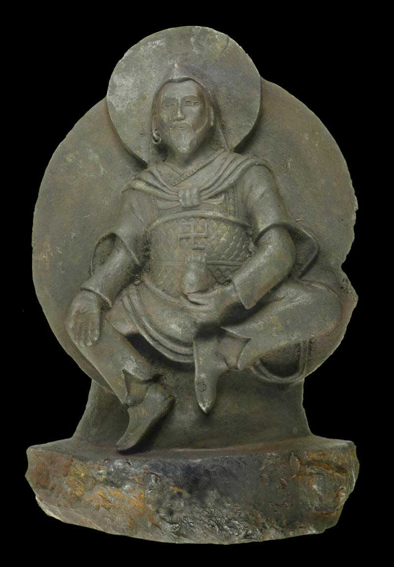 The Buddhist statue that a Nazi expedition brought back from Tibet, according to last month's news releases.