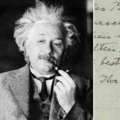 Einstein's 'God Letter' to Be Auctioned on EBay