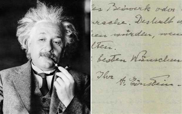Physicist and mathematical genius Albert Einstein.