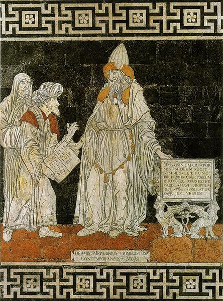 Ermete Trismegisto by Giovanni di Stefano.