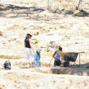 Archaeologists explore ancient market