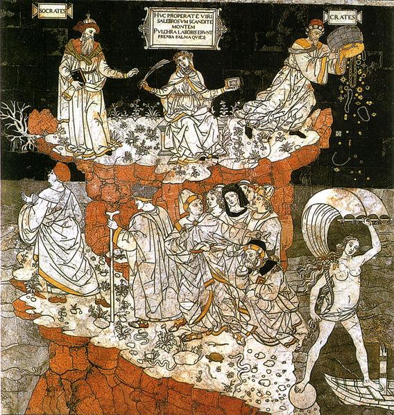 Allegoria del colle della sapienza by Pinturicchio.