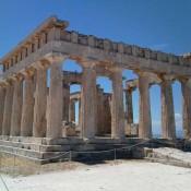 Promotion of monuments in Aegina