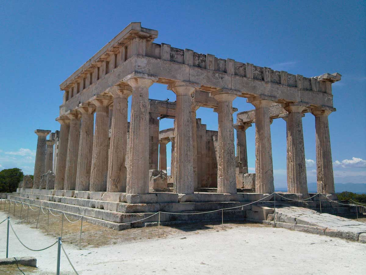 The Temple of Aphaea.