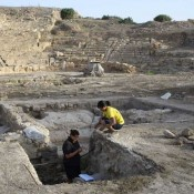New finds at the ancient theatre of Nea Paphos