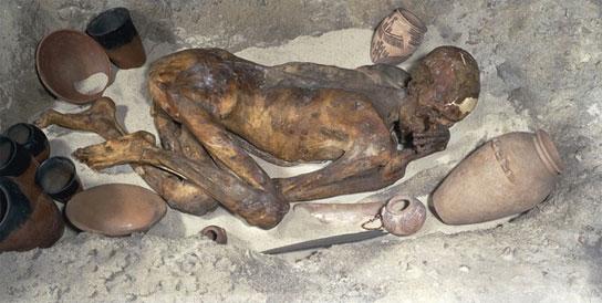 Gebelein Man, Predynastic period, around 3500 BC.