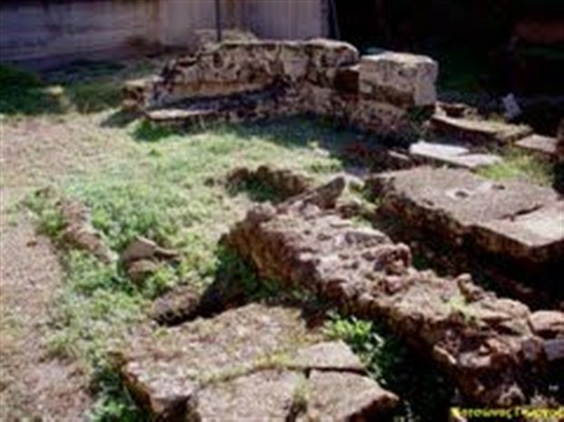 The Ismenion hill.