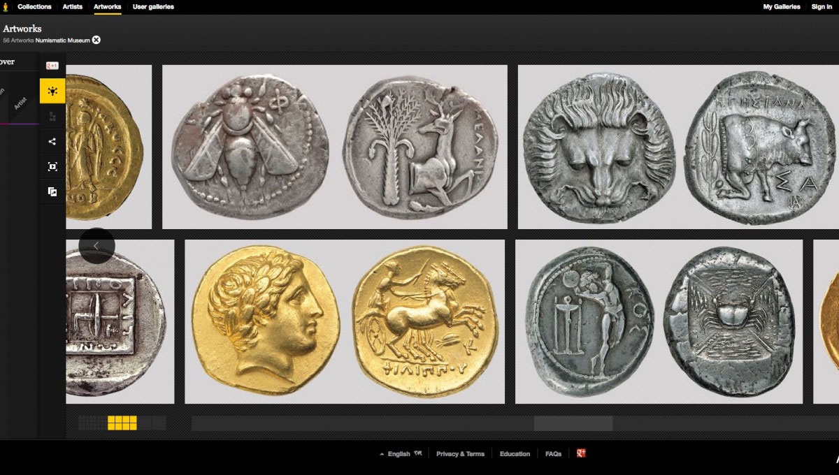 The Numismatc Museum of Athens is making its collections available to a wider audience.