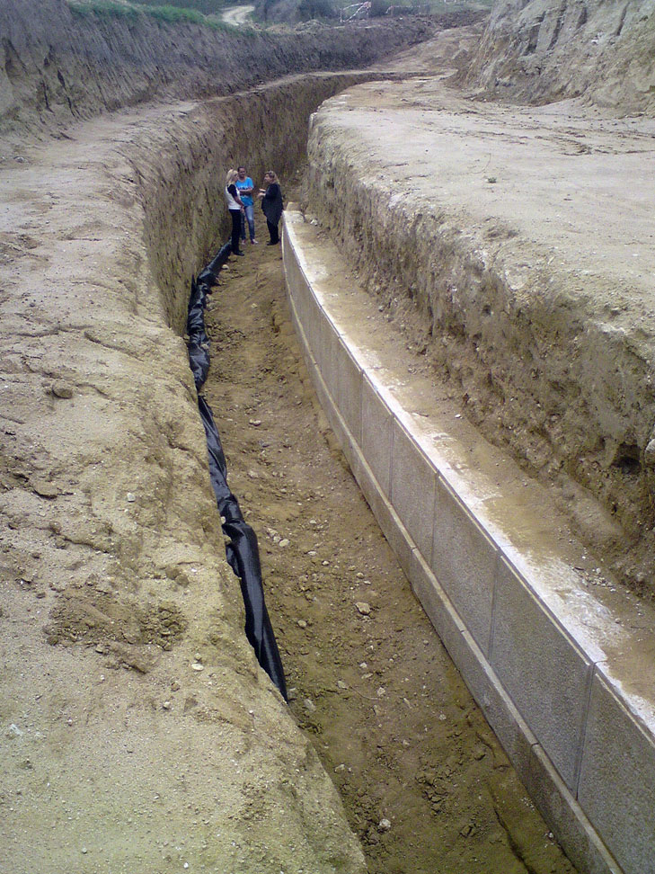Excavation site at Amphipolis.