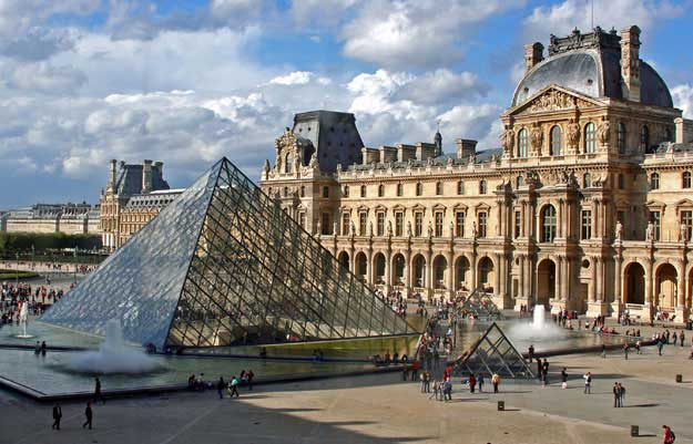 The Louvre Museum.