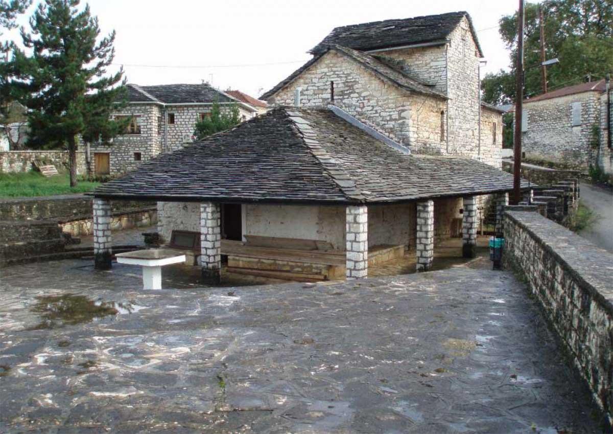 The church of Aghios Dimitrios.