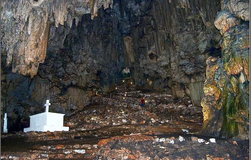 Melidoni Cave.