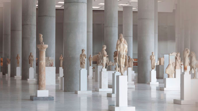 Acropolis Museum, the Archaic Gallery.