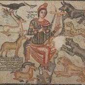 Orpheus mosaic repatriated to Turkey from Dallas