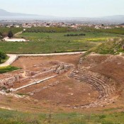 The ancient theatre of Sikyon will be restored
