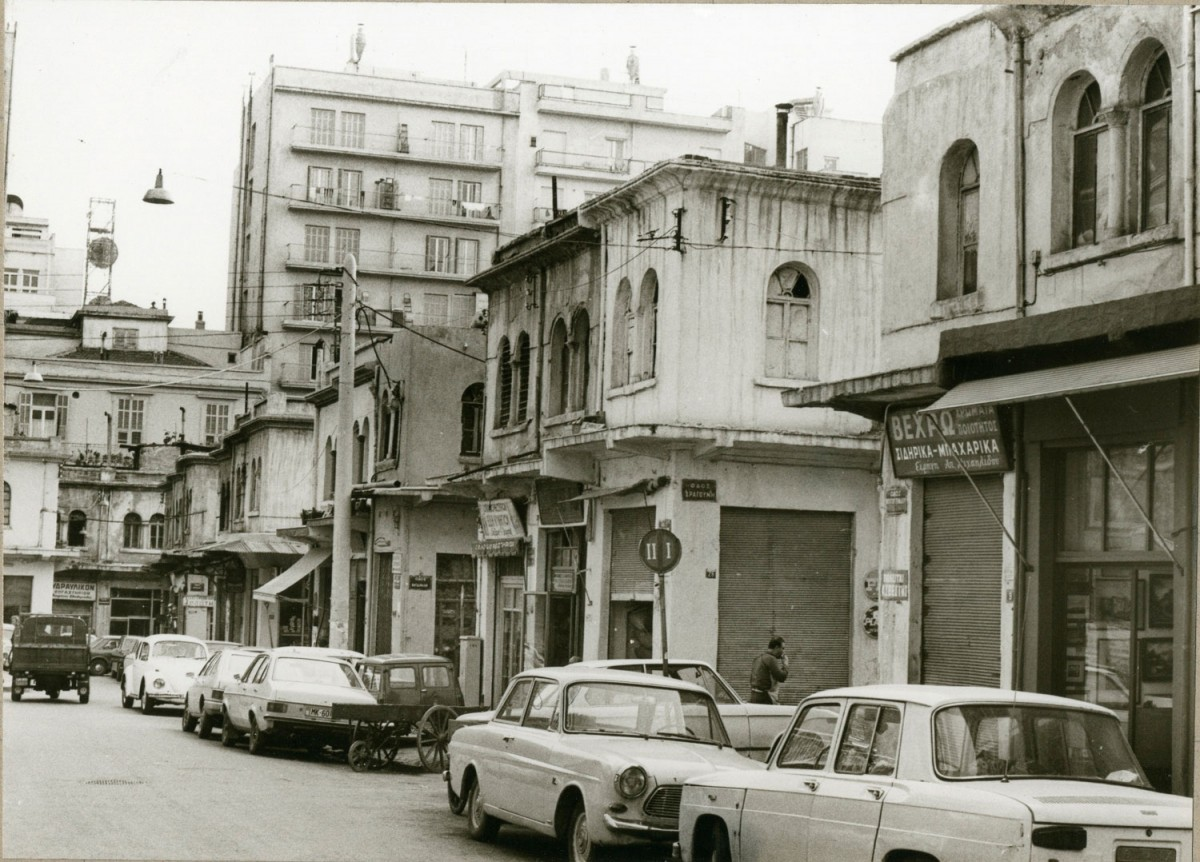 """A photo from the exhibition """"Thessaloniki 100+. City and Architecture. Modernizations and adjustments""""."""