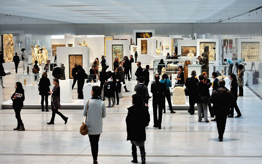 Louvre-Lens Museum, interior. (Picture: Philippe Huguen/AFP/Getty Images)