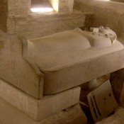 The largest sarcophagus belongs to pharaoh Merneptah