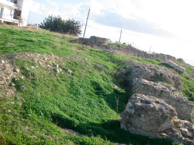The site where the ancient theatre of Hierapetra is located