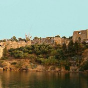 Bad weather causes damage to the Koroni Castle