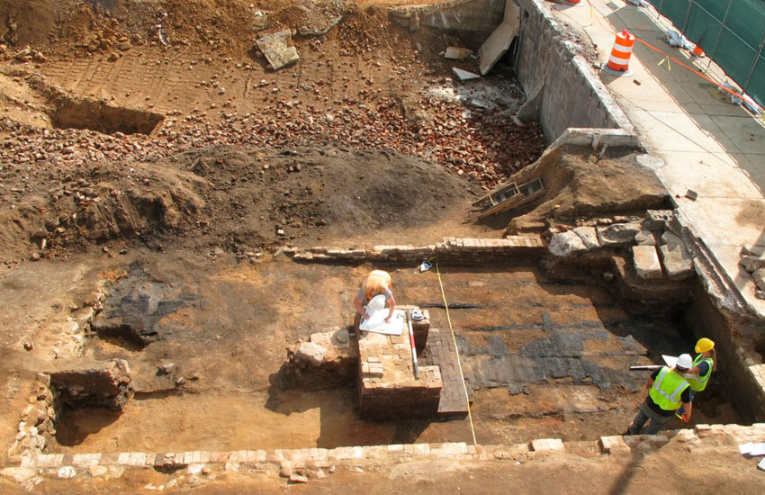 After waiting years and years, citizens are often prompted to take on the funding of the excavation themselves