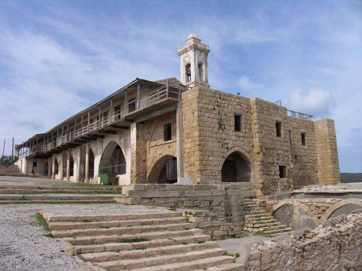 The Apostolos Andreas Monastery.