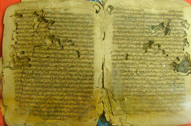 Islamist fighters fleeing Mali's ancient Saharan city of Timbuktu set fire to the city's library containing thousands of priceless manuscripts, the mayor said.