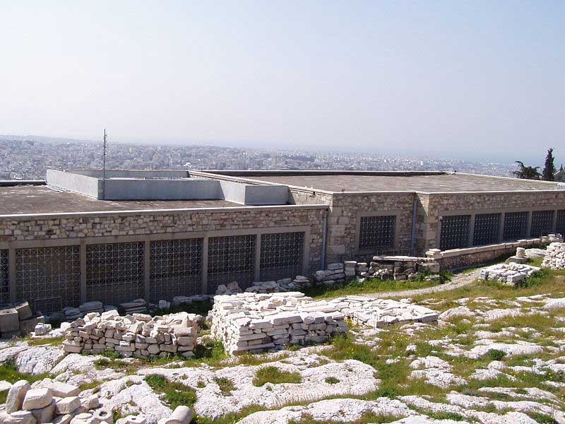 The old Acropolis Museum in Athens.