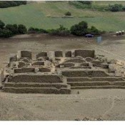 5,000-year old temple in Peru