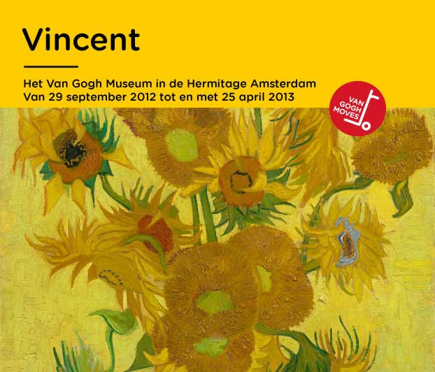 Poster of the exhibition in Amsterdam.