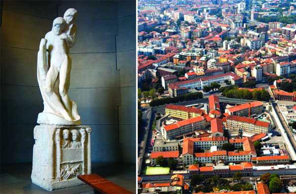 La Pietà Rondanini is to be temporarily relocated in the Milanese prison Carcere di San Vittore.