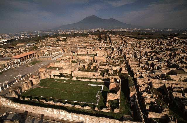 Major restoration works at Pompeii to begin next week.