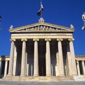 No fence for the Academy of Athens