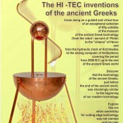 The hi-tec inventions of ancient Greeks
