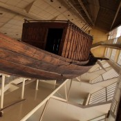 "Ancient Egypt ""pyramid"" boat threatened"