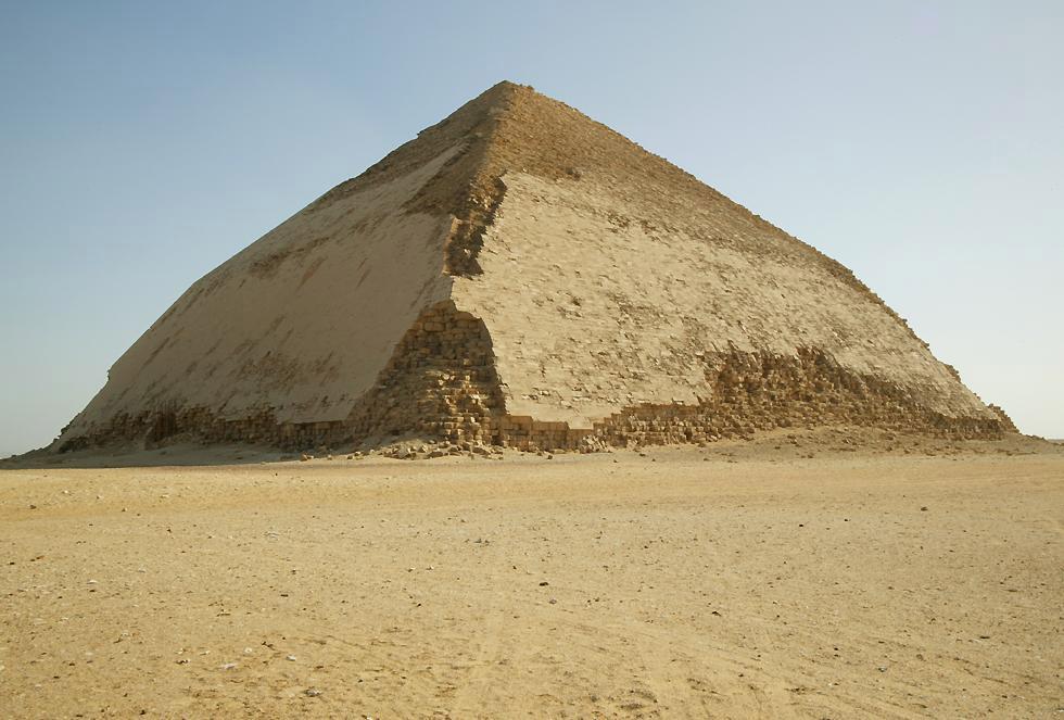 Dahshur, the Bent Pyramid.
