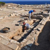 New archaeological excavations on the island Despotikon