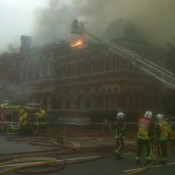 Cuming's Museum gutted by fire on Monday