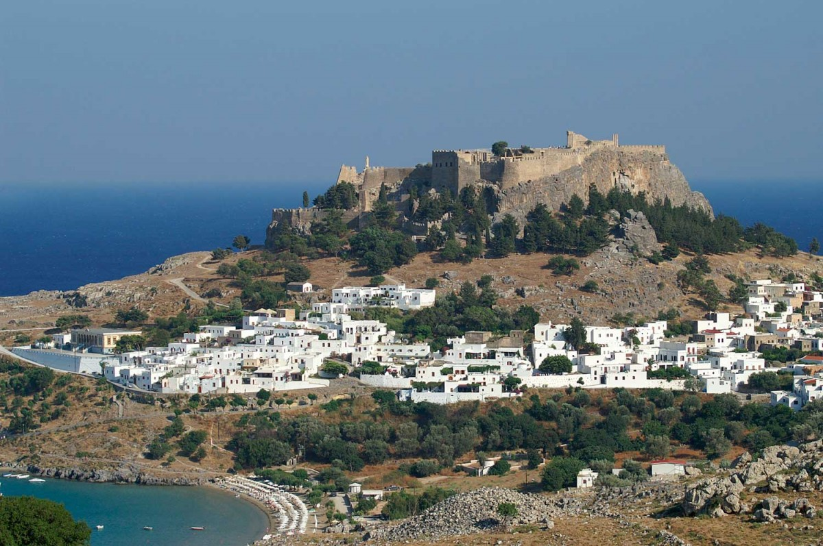 View of Lindos.