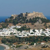 New lighting for the Lindos Acropolis
