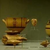 Μycenaean finds from Aiani and upper Macedonia