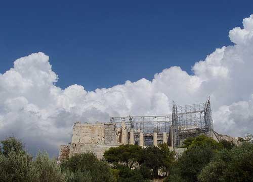 Propylaea Central Building, Acropolis, Athens. Photo: T. Tanoulas.