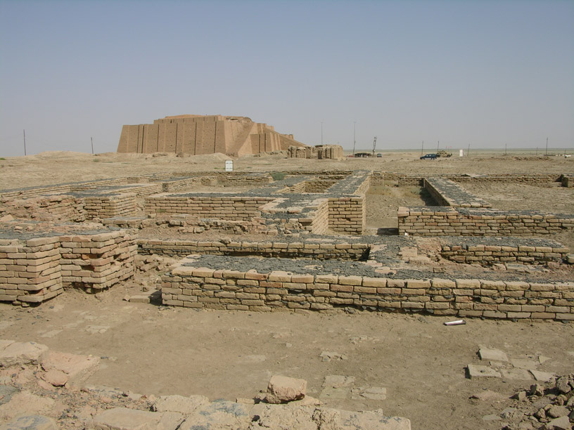 Ur, the archaeological site.