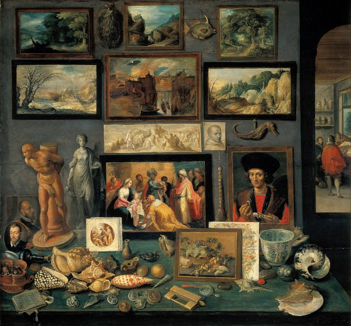 Chamber of Art and Curiosities, 1636, by Frans Francken II.