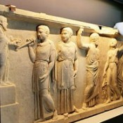 British Museum reunites Roman marble panels split for 2,000 years
