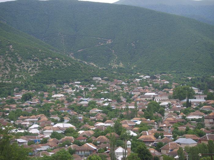 Shaki, Azerbaijan.