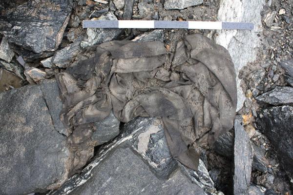 Pre Viking Tunic Found Inside Melting Glacier