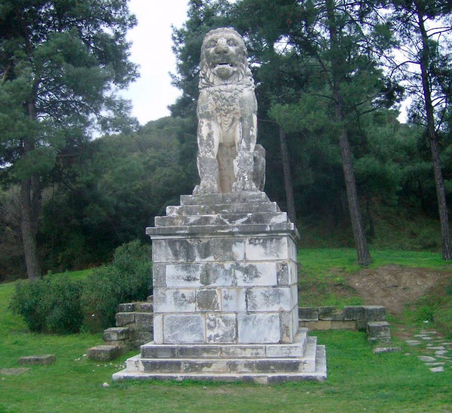 The Lion of Amphipoli.