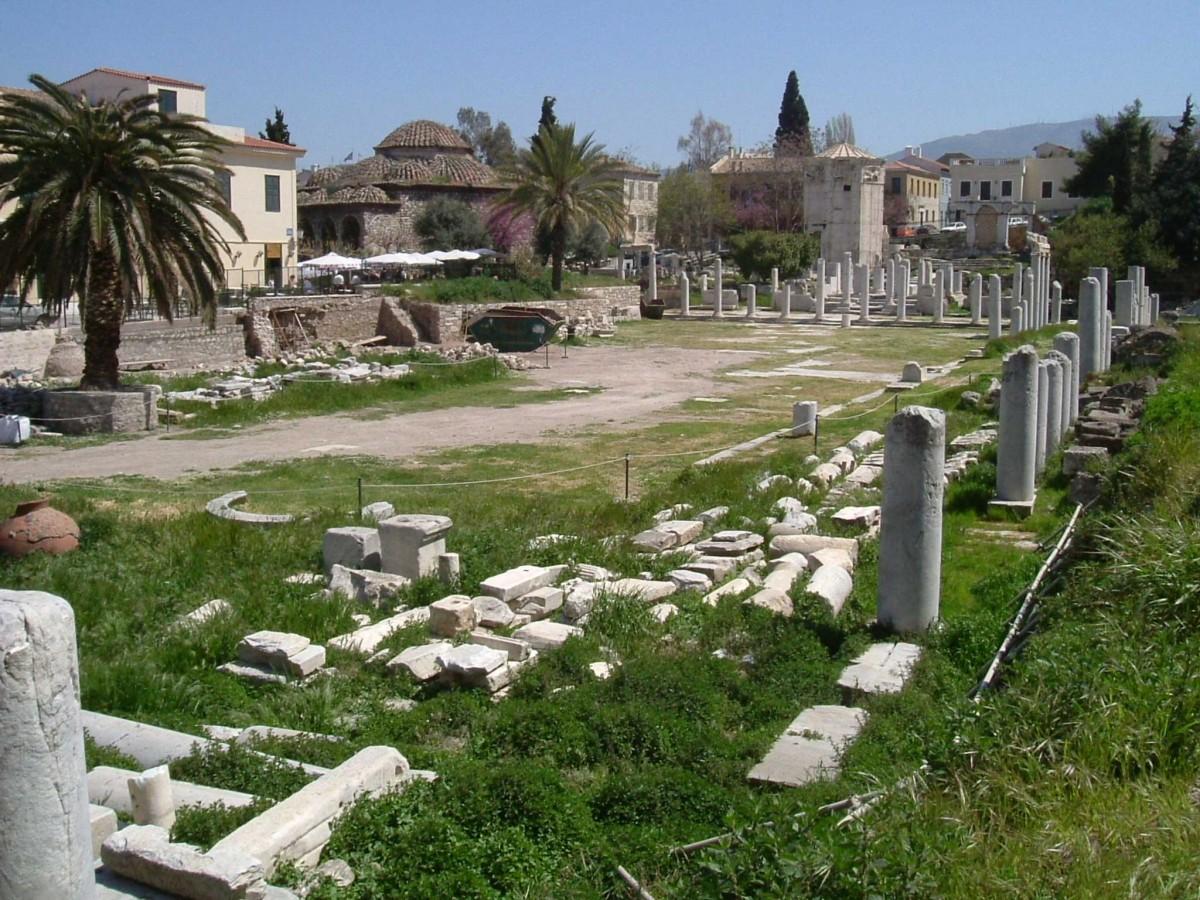 Roman Agora. Athens.