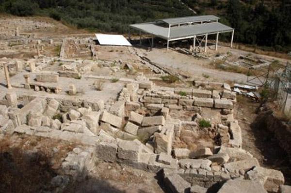 General view of Eleftherna.